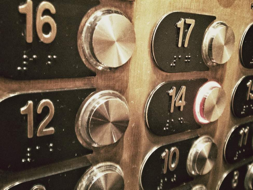 Try riding an elevator up to the 13th floor of Winnipeg's Fairmont Hotel. Wha?  Otis Elevator estimates that up to 85 per cent of all high-rise buildings lack a 13th floor. (Melissa Tait / Winnipeg Free Press)